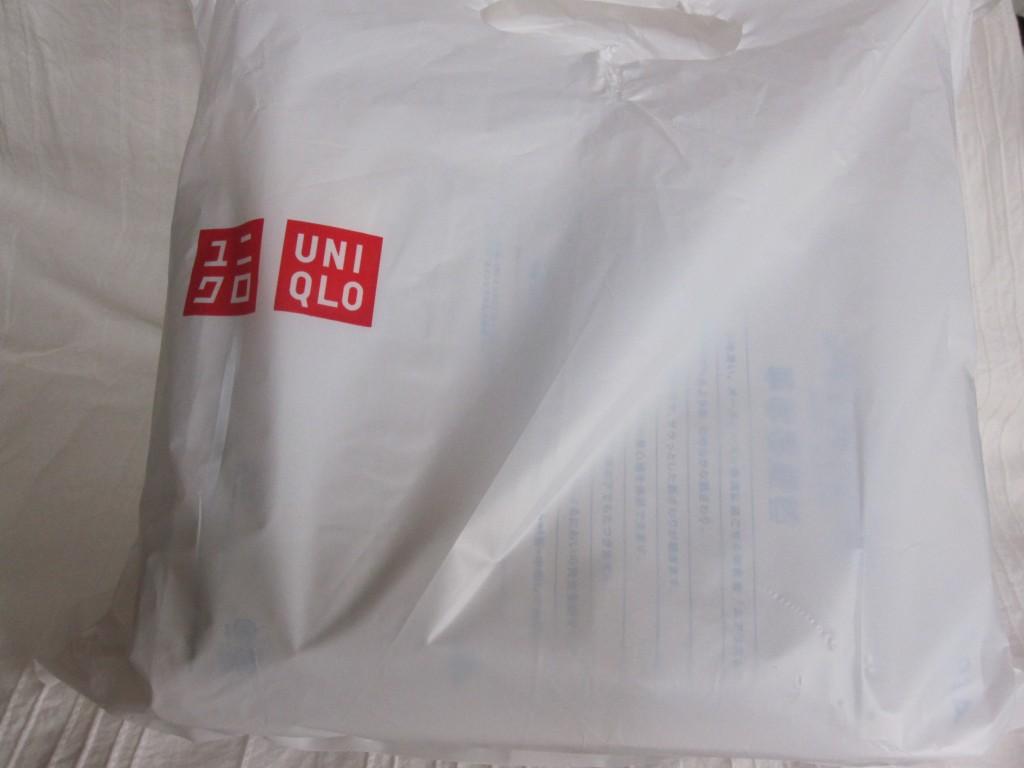 ユニクロの買い物袋