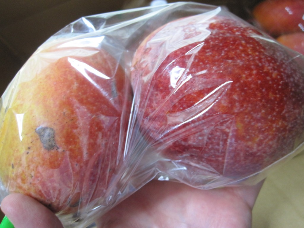 甘い匂いを放つ高級フルーツのマンゴー