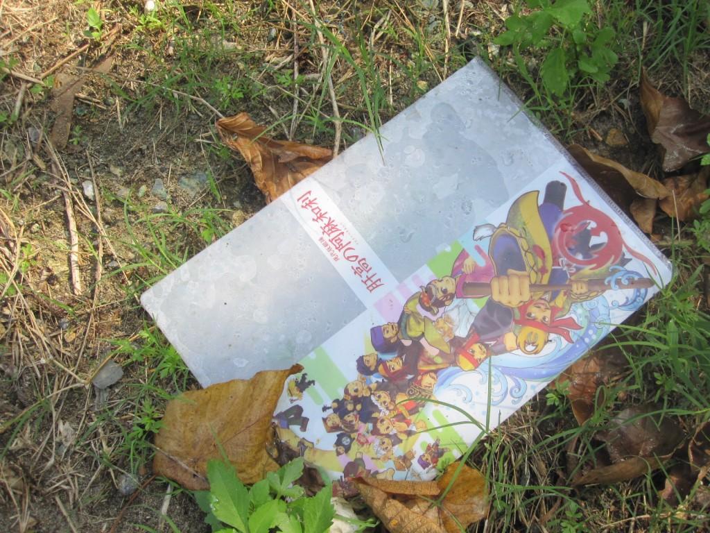 無造作に捨てられたゴミ