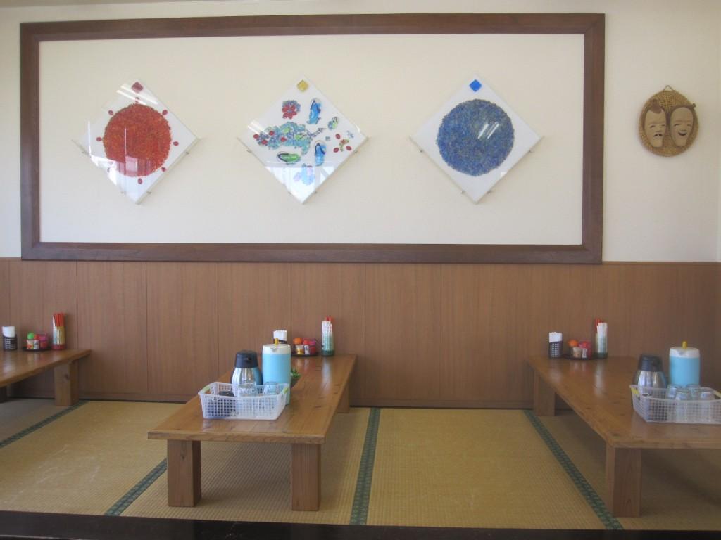 店内のテーブル座敷・畳席