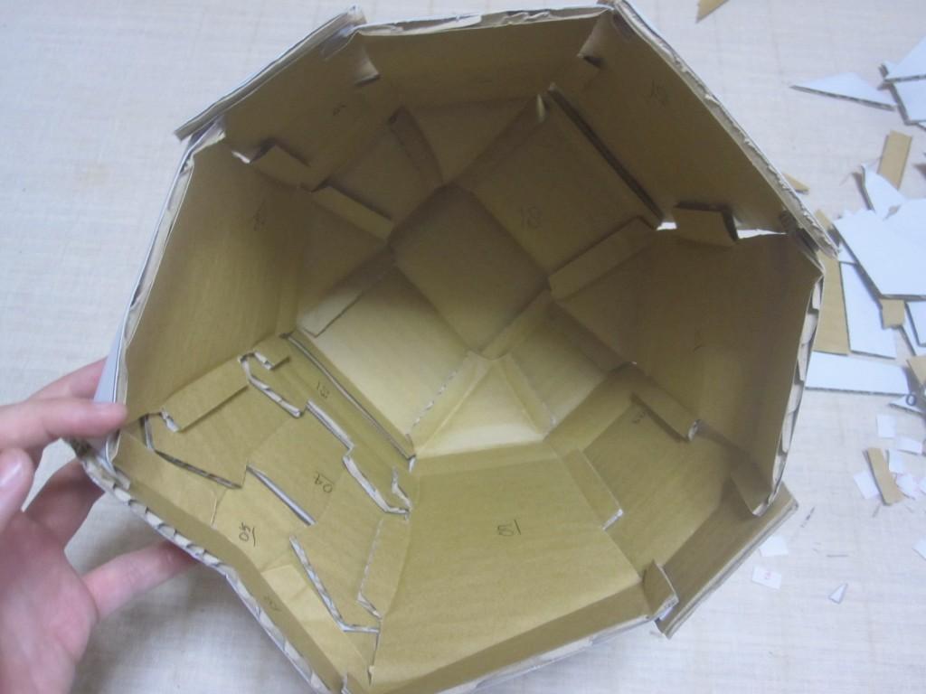 ストーム・トルーパーのマスクの内部