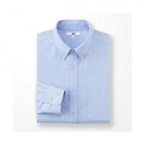 UNIQLO MEN オックスフォードシャツ(長袖)