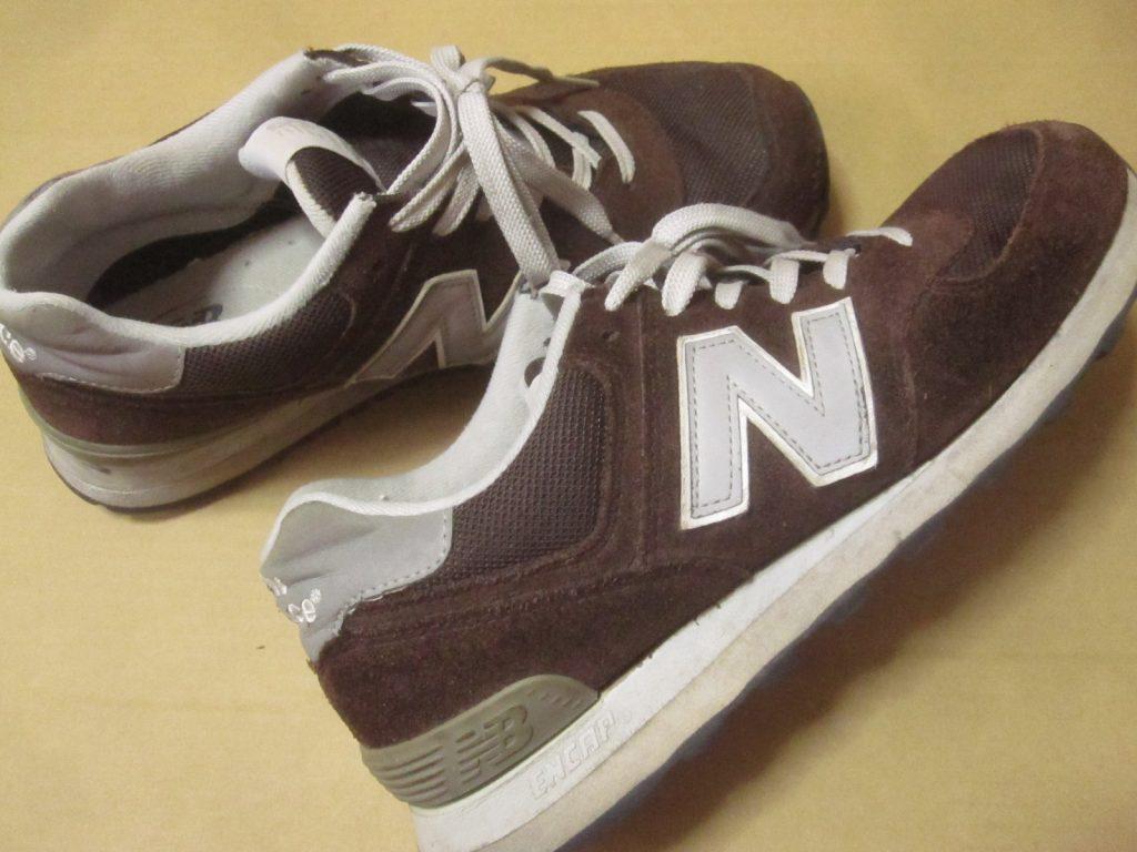 お気に入りの靴(ニューバランス)ML574