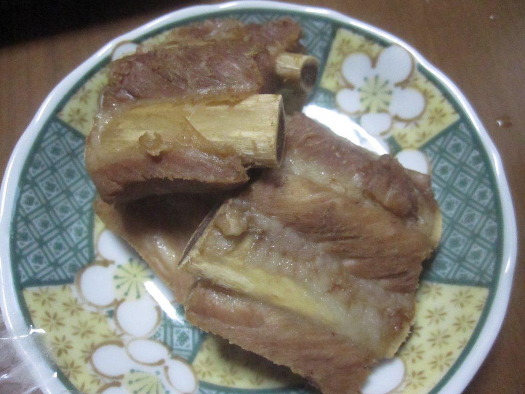 豚肉は別皿で用意する