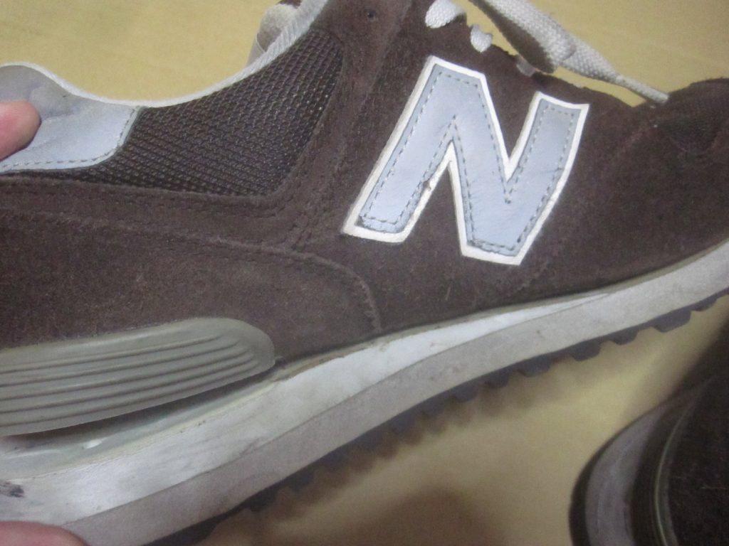 NB574の靴底・ソールが剥がれたから接着剤で修理をしてみる