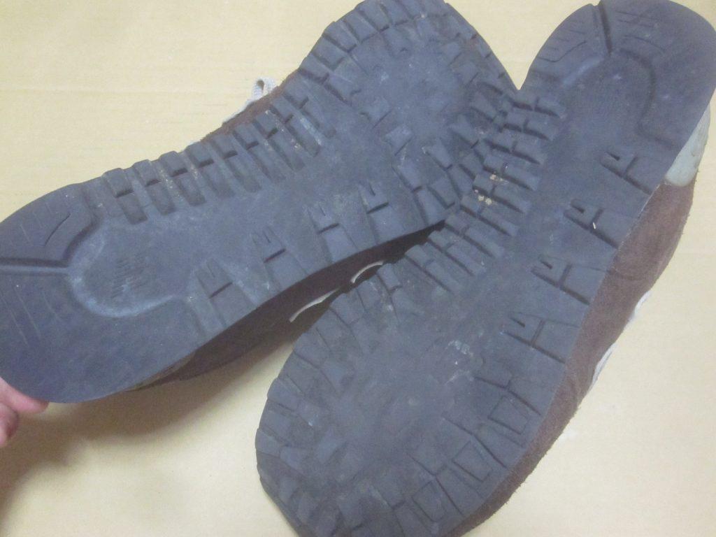 NB(ニューバランス)ML574の靴底ソール