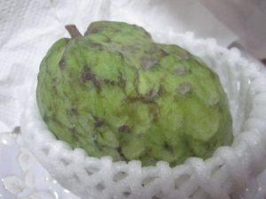 """""""森のアイスクリーム""""と例えられる果物(フルーツ)アテモヤの実"""