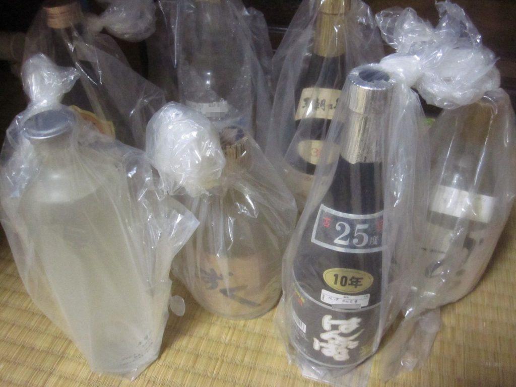 10数年前に購入して保管しておいた泡盛(古酒クース)