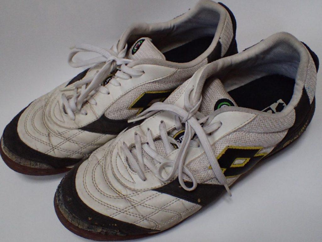 十数年前に購入した靴・スニーカーlotto(ロット)が大掃除で出てきた(笑)