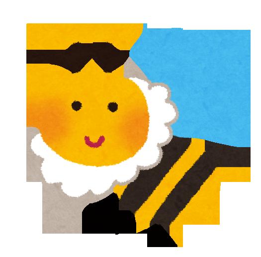 ミツバチのイラスト