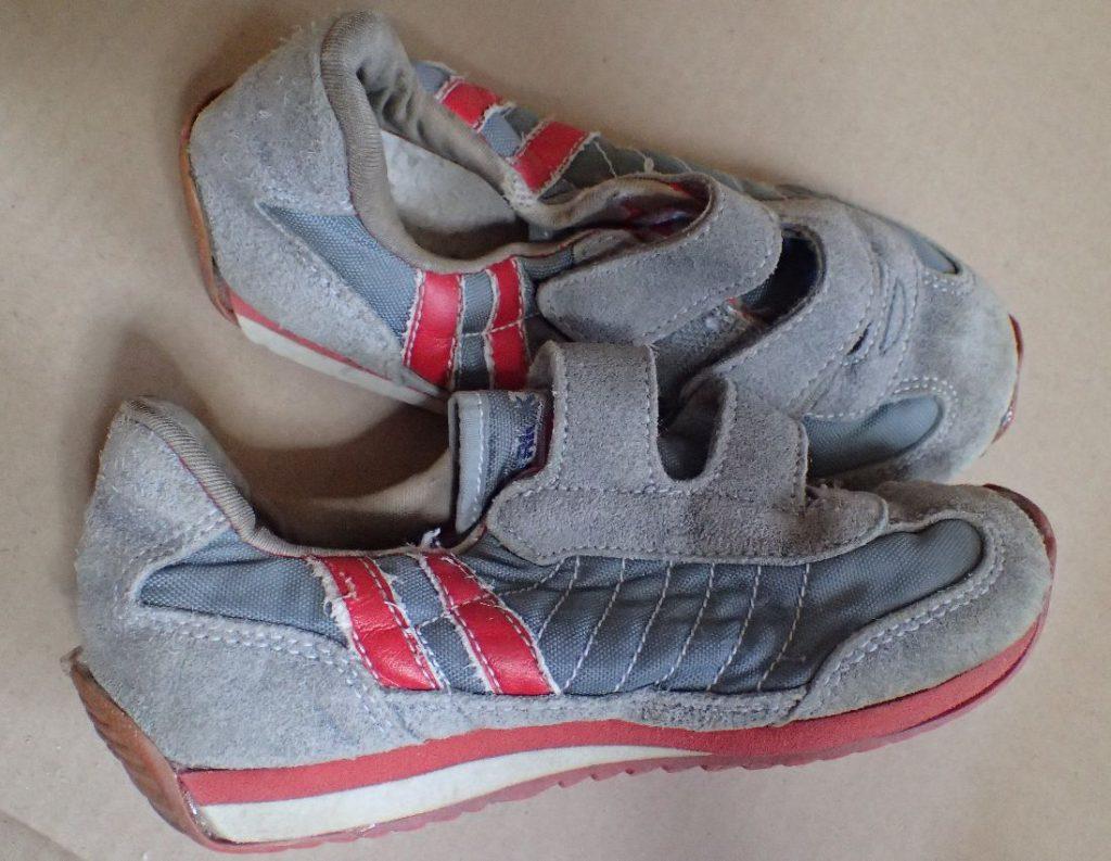 数日置いた靴底ソールはしっかりと固定・乾燥して修理に成功していた