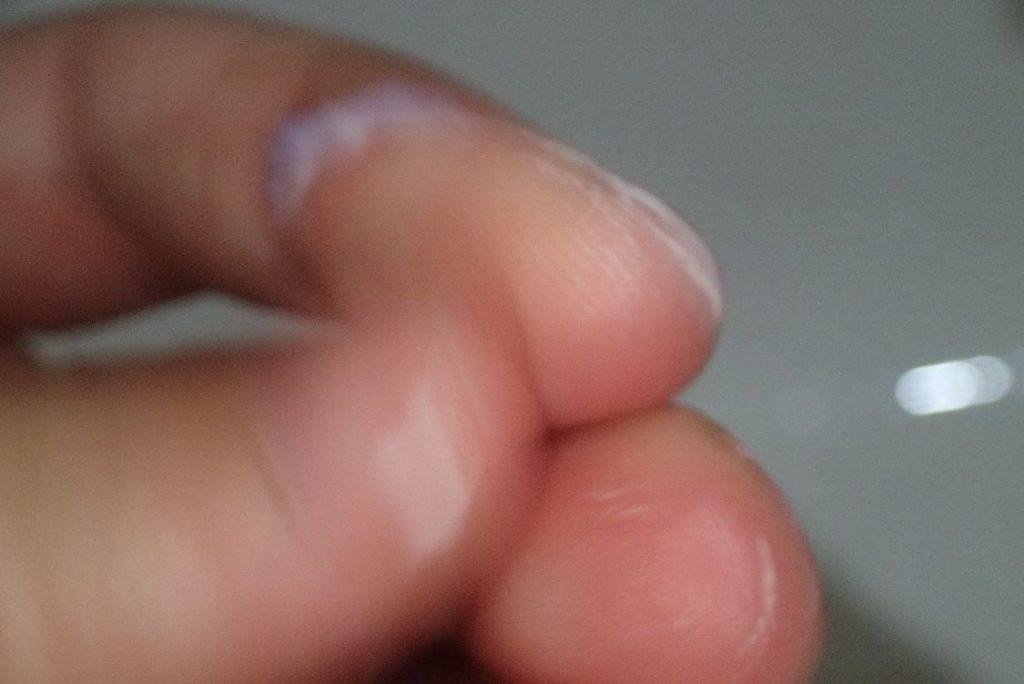 指で石鹸を削り取って手を洗うという悲惨な状態に陥っていた