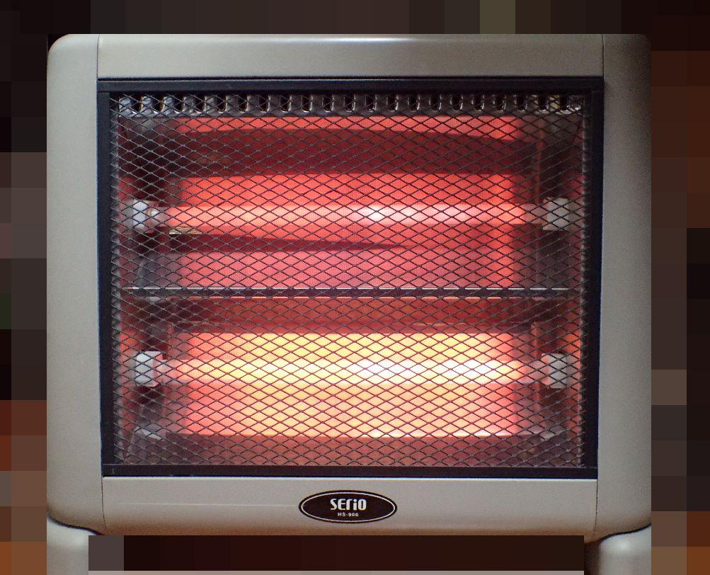 スイッチを入れてヒーターが温まっても焦げ臭いニオイがしない!
