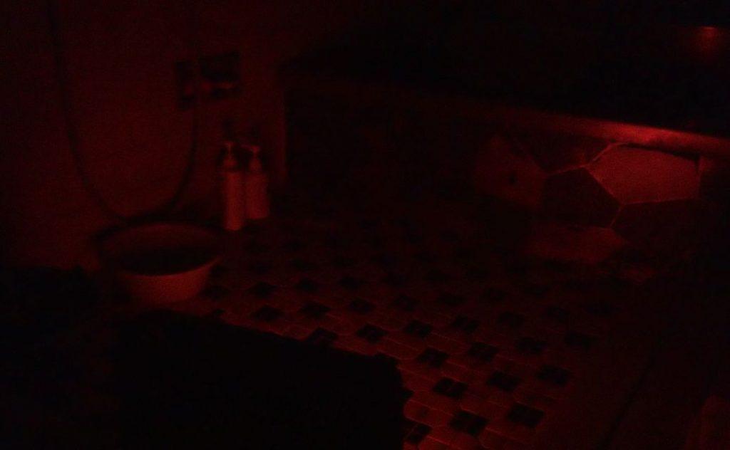 冬の寒い風呂場をストーブで温める実験スタート!
