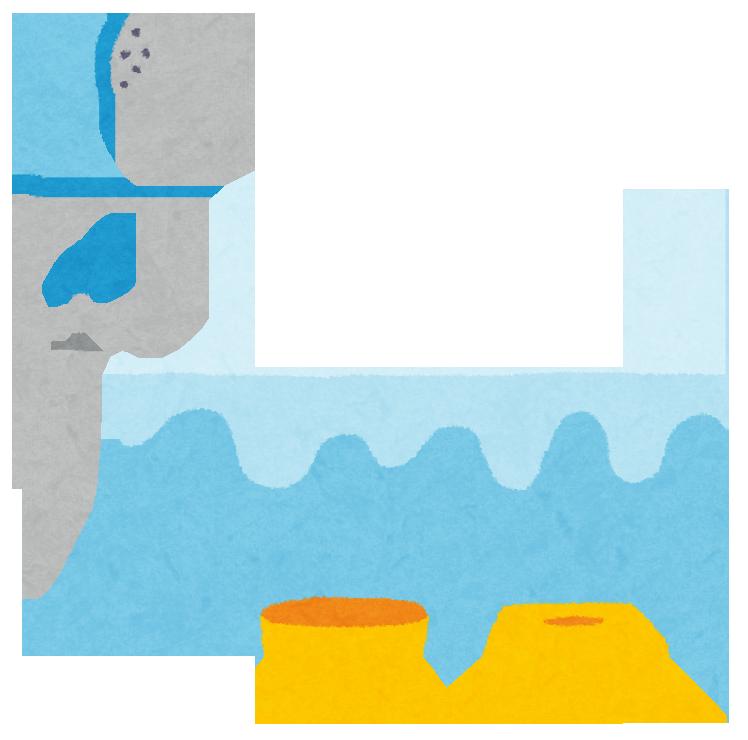 お風呂場のイラスト(いらすとや)