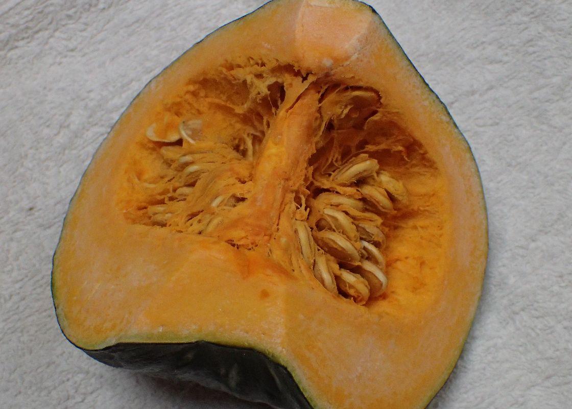 メキシコ産のカットかぼちゃ