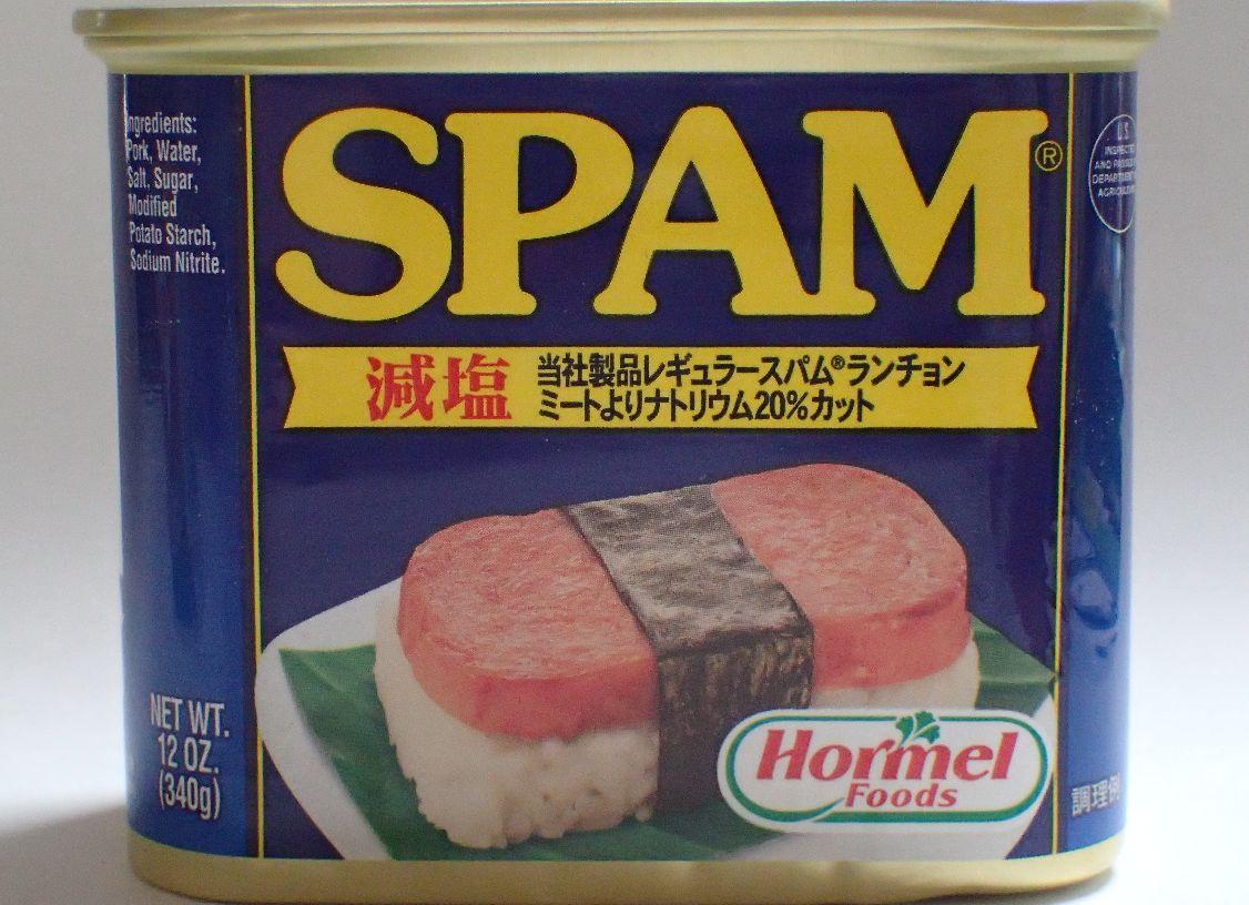 沖縄料理に欠かせない定番の材料Hormel ホーメル スパム(SPAM)缶詰