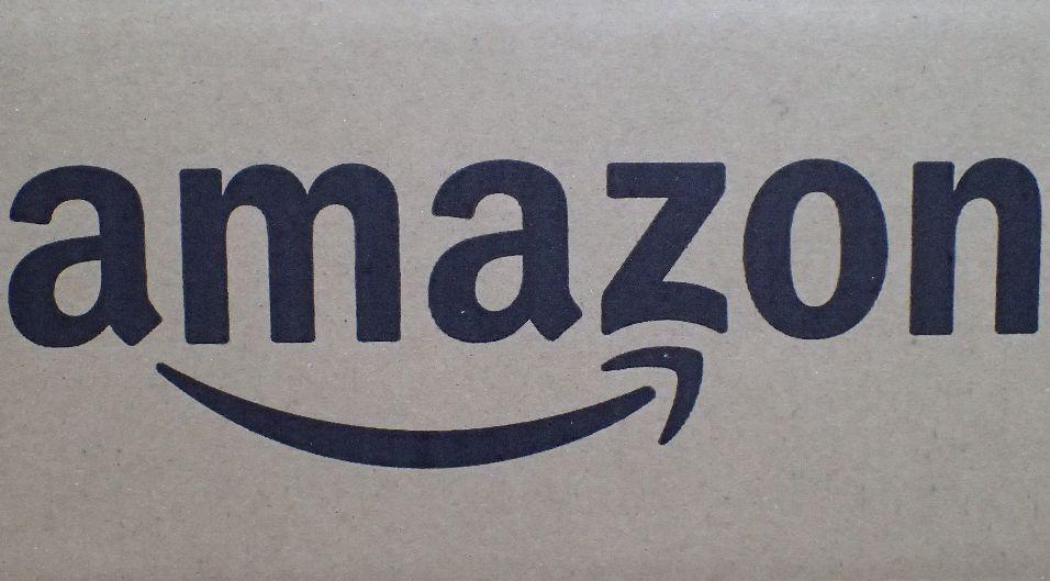 amazonのダンボール箱