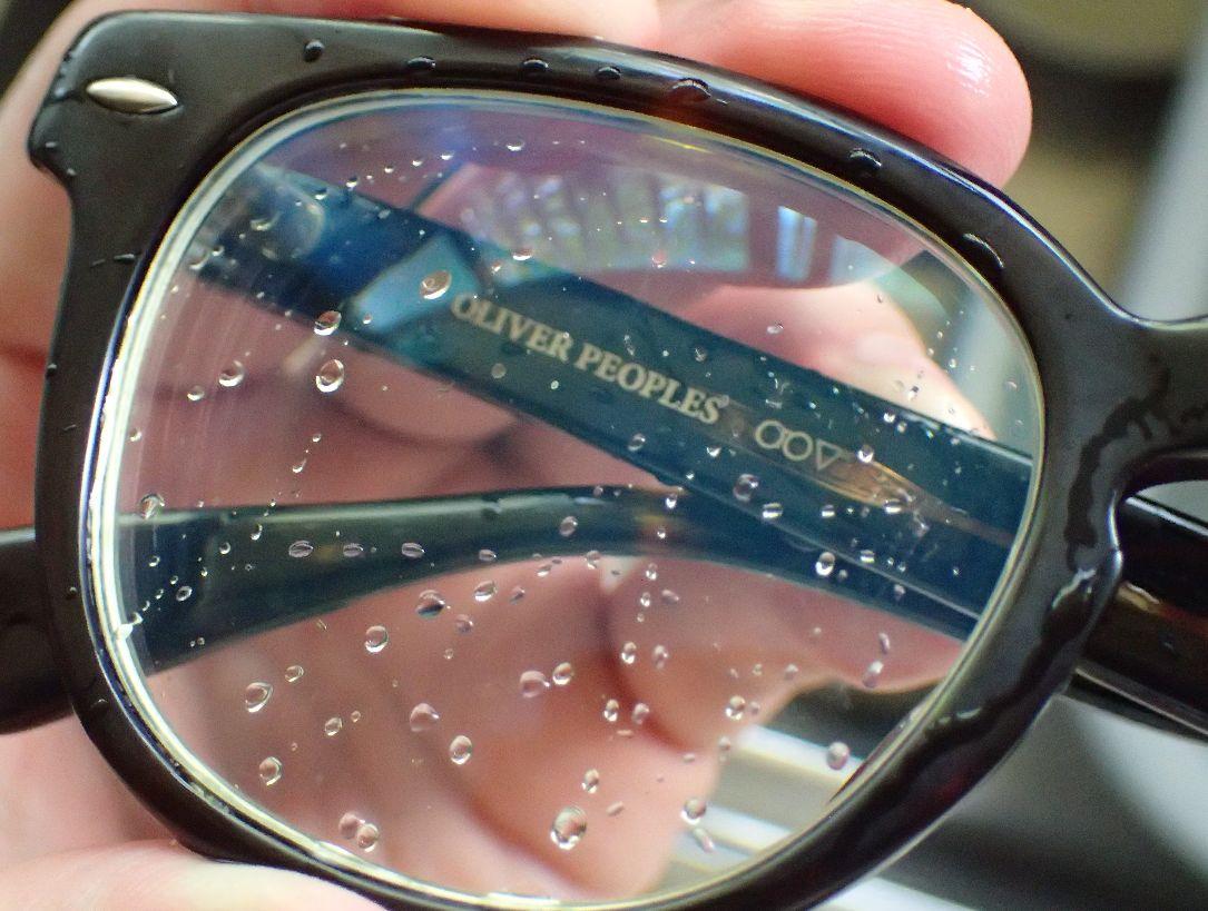 レンズの汚れがキレイに落ちている!