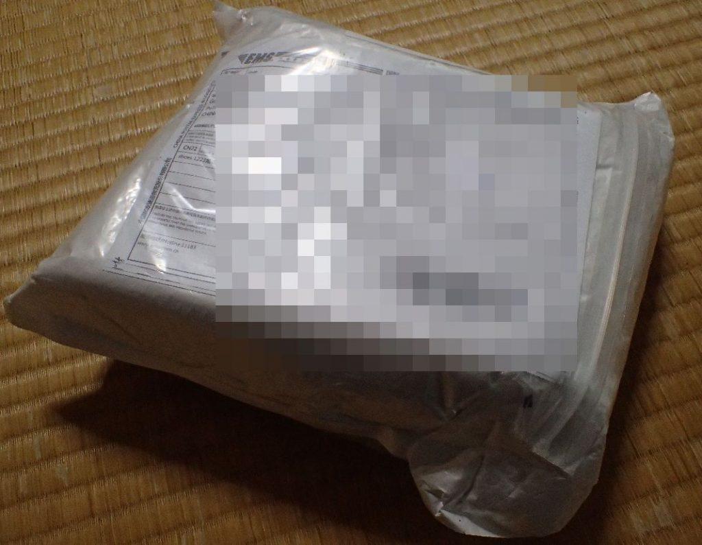 amazonで購入した商品が中国から到着した!